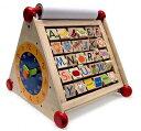 木製知育玩具 アイムトイ 7in1アクティビティーセンター