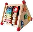 木製知育玩具 アイムトイ 指先レッスンボックス 黒板 木のおもちゃ 【あす楽対応】