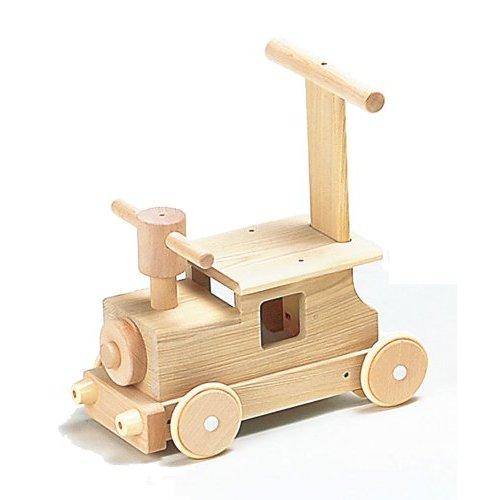 MOCCO 日本製 木のおもちゃ 森の汽車ポッポ 乗用玩具 【あす楽対応】