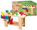スタドルバウアー ワークベンチ 木製 組立式 知育玩具 ドイツの木のおもちゃ