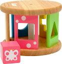 送料無料 木製知育玩具 LABY ころころパズル ベビーのブロックおもちゃ