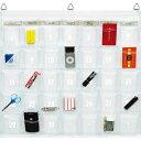 ウォールポケット 壁掛け収納 クリアー 透明 カレンダーポケット(Sサイズ) 底マチ付 カレンダー 【あす楽対応】
