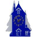ムーミン シルエット時計 ムーミン屋敷 掛時計 インテリア雑貨