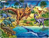 ラーセン T-REX 恐竜 パズル 57ピース 知育玩具 LARSEN 【あす楽対応】