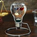 温度計 ガラスフロート 電球 観賞用インテリア おしゃれ シンプル インテリアオブジェ