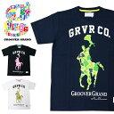 ショッピング迷彩 GROOVER GRAND グルーバーグランド Tシャツ 半袖 メンズ かっこいい 白 黒 ホワイト ブラック ポニー 迷彩 ストリート系 ファッション ダンス B系 XXL 2XL 2L 3L 大きいサイズ