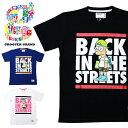 GROOVER GRAND グルーバーグランド Tシャツ メンズ 半袖 キャラクター ロゴ プリント ストリート系 ファッション スケボー ダンス 衣装 B系 XXL 2XL 2L 3L 大きいサイズ かっこいい