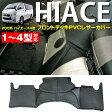 ハイエース 200系 4型 標準タイプ 4型〜1型 スーパーGL対応 フロントデッキカバー PVCレザー 標準