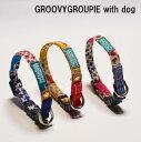 超小型犬用 首輪 SSサイズ 花柄&デニム、レザー チワワ、...