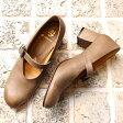 【送料無料】【2016春夏】chausser/ショセ C2240ストラップサケットパンプスグレイ|ground|靴|