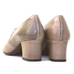chausser(ショセ)C2185レースアップパテントマニッシュパンプス【送料無料】ground|靴
