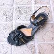 【送料無料】chausser/ショセ C2221ドレスサンダルネイビー|ground|靴|