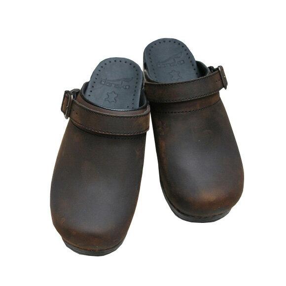 【2018秋冬】dansko/ダンスコ INGRID イングリッド OILED ANTIQUEBROWN オイルド アンティークブラウン コンフォート2WAYサボクロッグス|ground|靴|