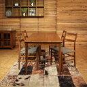 商品名|REJERO リジェロ ダイニングセットカラー| チーク レッドブラウン色テーブルサイズ| 幅 150 奥行80 高さ72cm 北欧テイスト ウレタン塗装