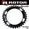 ROTOR / ローター 110PCD 34T 4Arm SHIMANO用 Q-RINGS オーバルチェーンリング ロードバイク/自転車/シマノ用
