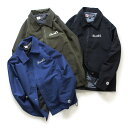 Chari&Co チャリ&コー COACH JKT コーチジャケット (カラー:BLACK/OLIVE/SLATE BLUE)