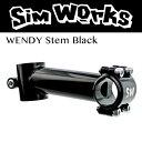 【即納可】SimWorks/シムワークス WENDY Stem ブラック クロモリ/日東