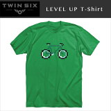 ��¨Ǽ�ġ�TWIN SIX / �ĥ��󥷥å��� ���ꥸ�ʥ�T����� 2015 LEVEL UP T-Shirt ��ž��/���������