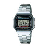 CASIO BASIC DIGITAL カシオ ベーシック デジタル A168WA-1  腕時計 時計 シルバー ブラック 黒 A168WA-1WCF A168WA-1WDF A1