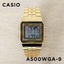 CASIO STANDARD DIGITAL カシオ スタンダード デジタル A500WGA-9 腕時計 メンズ レディース チープカシオ チプカシ プチプラ ゴールド 金 日本未発売