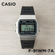 CASIO STANDARD DIGITAL カシオ スタンダード デジタル F-91WM-7A 腕時計 メンズ レディース チープカシオ チプカシ プチプラ シルバー ブラック 黒 海外モデル