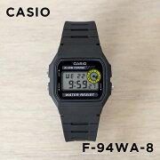 CASIO STANDARD DIGITAL カシオ スタンダード デジタル F-94WA-8 腕時計 メンズ レディース チープカシオ チプカシ プチプラ ブラック 黒 海外モデル