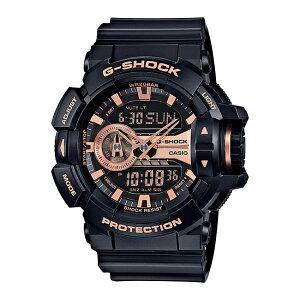 CASIO G-SHOCK カシオ Gショック GA-400GB-1A4 腕時計 メンズ ジーショック アナデジ 防水 ブラック 黒 ピンクゴールド