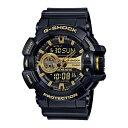 【10年保証】CASIO G-SHOCK カシオ Gショック GA-400GB-1A9 腕時計 メンズ キッズ 子供 男の子 アナデジ 防水 ブラック 黒 ゴールド 金