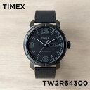 【日本未発売】TIMEX タイメックス モッド44 44MM TW2R64300 腕時計 時計 ブランド メンズ アナログ ブラック 黒 レザー 革ベルト オー..