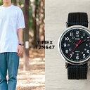 TIMEX タイメックス ウィークエンダー 38MM メンズ T2N647 腕時計 時計 ブランド レディース ミリタリー アナログ シルバー ブラック ..