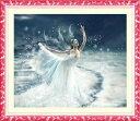 クロスステッチ刺繍キット氷上ダンス女 図柄印刷  A492