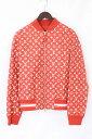 シュプリーム/SUPREME ×ルイヴィトン/LOUISVUITTON 【17AW】【LV Leather Baseball Jacket】...
