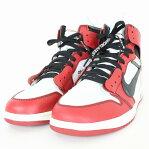 ナイキ/NIKE ×オフホワイト 【NIKE OFFWHITE Air Jordan 1 AA3834-001】エアジョーダン1スニーカー(28.5cm/レッド×ホワイト)bb187#rinkan*S