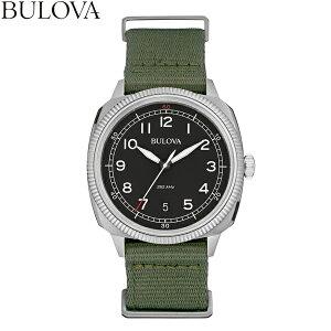 ブローバショッピングローン無金利対象品ブローバ[BULOVA]MILITARY[ミリタリー]96B229ナイロンバンド【腕時計時計】