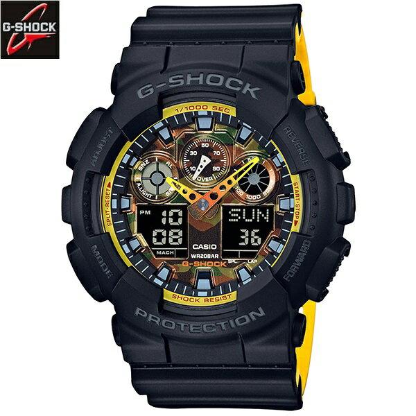 カシオ[CASIO] ジーショック[G-SHOCK] GA-100BY-1AJF/メンズ/ラバーバンド【腕時計 時計】 正規品【送料無料】ジーショック[G-SHOCK]/GA-100BY-1AJF【有効】