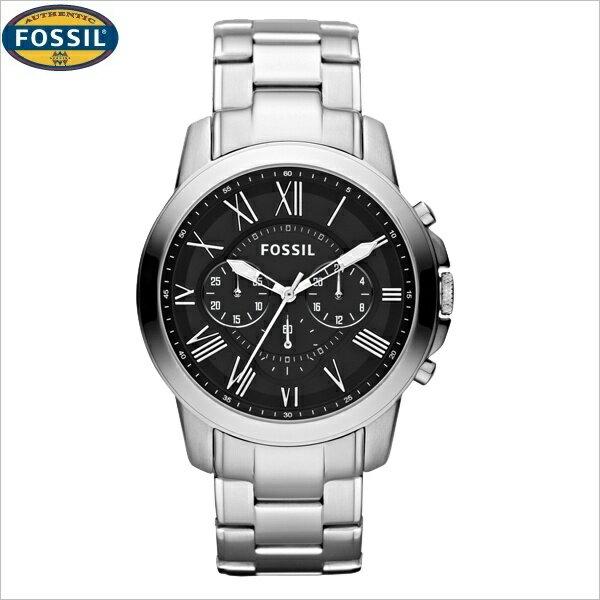 フォッシル[FOSSIL] グラント[GRANT] FS4736 メンズ メタルバンド【腕時計 時計】【ギフト プレゼント】 安心の正規品【メーカー保証】【送料無料】 選べる無料ラッピング♪クロノグラフ/フォッシル[FOSSIL]/FS4736