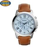 フォッシル[FOSSIL] グラント[GRANT] FS5184メンズ レザーバンド クロノグラフ【腕時計 時計】