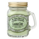 MasonJarCandleアロマキャンドルminiサイズ COCONUT LIME/Our Own Candle Company