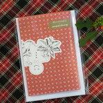 DURANCE(デュランス) クリスマスコレクション カードサシェ(3枚入り) ジンジャーブレッド
