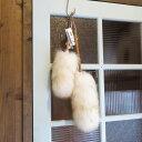ミーウーリーズ(Mi Woollies)羊毛ウールダスターS&Lサイズの2本セット(羊毛ダスター)(はたき)