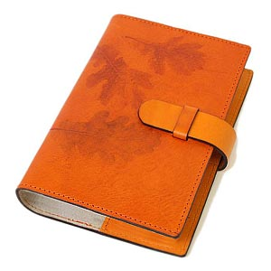 / Made in Italy leather system handbook covers Bible size refills sold separately / products-:off-org-medium-nat-i-mandarin