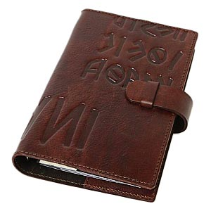 / Made in Italy leather system handbook covers Bible size refills sold separately / products-:off-org-medium-iku-antique