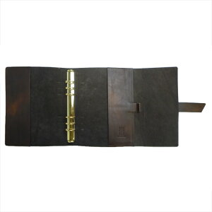【OFFICINALIBRIS】イタリア高級本革製システム手帳カバー(リフィル別売)【RosaDorata】a5サイズ