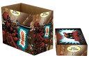 アメコミ収納用品: コミックブック ストレージボックス/ マーベルコミック デッドプール BANG ver 5個組み *画像の商品が5個入っているものをお送りします。(未組み立ての状態で5セットがひとつの運送用段ボール箱に収められたものでのお届けです。)