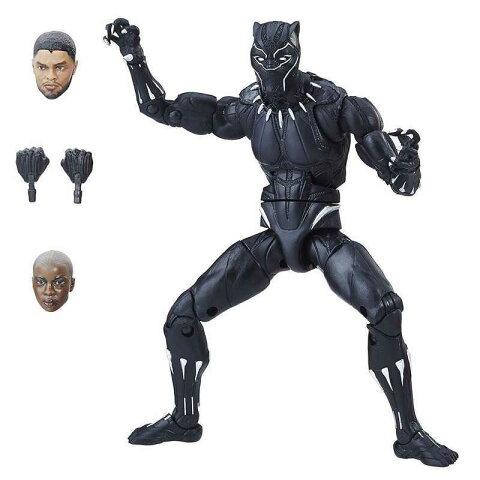 ブラックパンサー シリーズ1.0 マーベル・レジェンド 6インチ アクションフィギュア/ブラックパンサー (映画『ブラックパンサー』版)