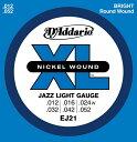 D'Addario 12-52 EJ21 Jazz Light[ダダリオ][ジャズライト][エレキギター弦,string]