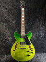 Ibanez Artcore AS73FM-GVG 新品 アイバニーズ フルアコ Green Valley Gradation,グリーン,緑 Electric Guitar,エレキギター