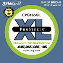 D'Addario 45-105 EPS165SL ProSteels Reg Light Top/Med Bottom スーパーロングスケール[ダダリオ][レギュラーライトトップ/ミディア..