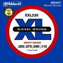 D'Addario 55-110 EXL230 Heavy[ダダリオ][へヴィー][Nickel Round Wound,ニッケルラウンドワウンド][ベース弦,String]