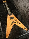 【中古】Dean USA Exotic Wood V 2013 NAMM - Natural - 2013年製[ディーン][ナチュラル][Flying V,フライングVタイプ][Electric Guita..